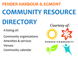 Pender Harbour Directory - community information